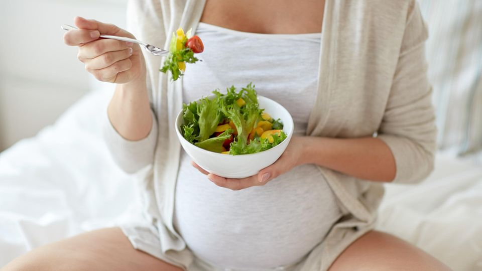 Vegane Schwangerschaft