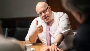 Peter Altmaier im Gespräch über die Chancen der Digitalisierung