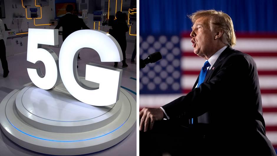 Donald Trump fordert auf Twitter 5G-Technologie für die USA