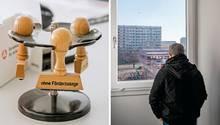 Besuch im Jobcenter: Mit der Hartz-IV-Reform will sich die SPD retten