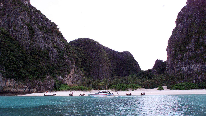 Maya-Bucht auf einer thailändischen Insel