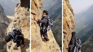 Ist das der härteste Wanderweg aller Zeiten? Draufgänger versuchen sich an extrem gefährlichen Bergfpad.