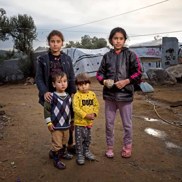 Von der Kälte Europas: Bericht aus einem Flüchtlingslager auf Lesbos, Griechenland