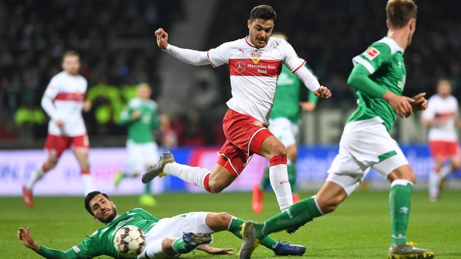 Bremen gegen Stuttgart