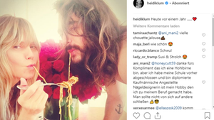Vip News Heidi Klum und Tom Kaulitz machen auf Susi und Strolch
