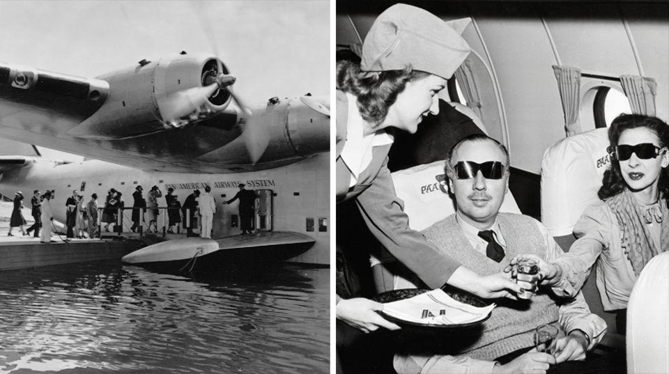 Historische Flugzeuge: Boeing 314 Clipper - ein Palast der Lüfte