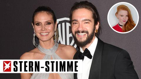 Heidi Klum und Tom Kaulitz strahlen bei den Golden Globes um die Wette