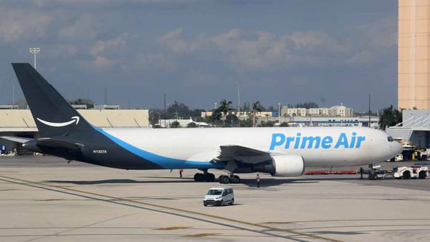 Amazon-Flugzeug Boeing 767