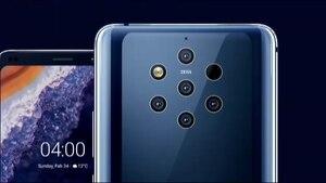 Die fünf Kameras des Nokia 9 sind allemal ein Hingucker - ob man sie hübsch findet, steht auf einem anderen Blatt
