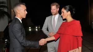 Prinz Harry und Gattin Meghan sind zu Besuch in Marokko.
