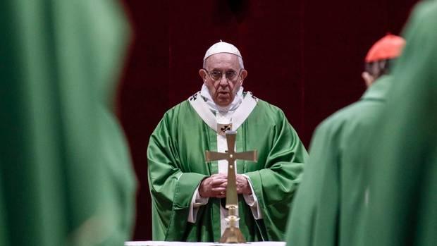 Papst Franziskus auf dem Missbrauchsgipfel der Katholischen Kirche