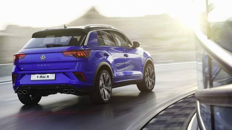 VW T-Roc R - sportlich positioniert
