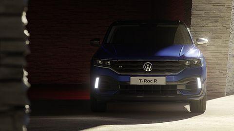VW T-Roc R - LED-licht ist Serie
