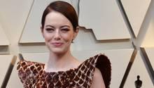 Arme Emma Stone: Viele Oscar-Zuschauer amüsierten sich über ihr Kleid