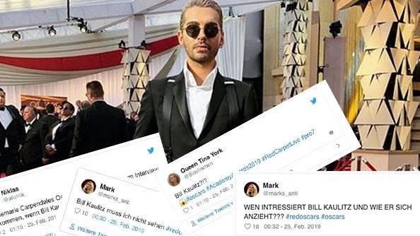 Bei ProSieben: Bill Kaulitz kommentiert die Oscar-Outfits - und nervt die Netzgemeinde