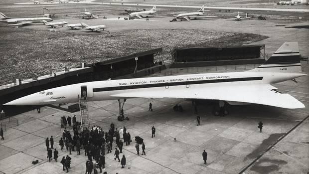 Der Prototyp 001 ist fertig und wird in Toulouse der Presse vorgeführt: Vor genau 50 Jahren startete dieConcorde zum ersten Mal.
