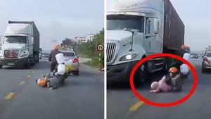 Unfall im Süden von Hanoi