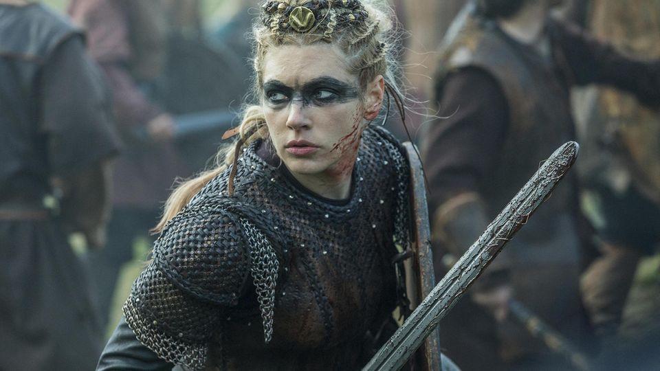 """Der Erfolg der Serie """"Vikings"""" beruht nicht zuletzt auf den blutrünstigen Frauengestalten."""