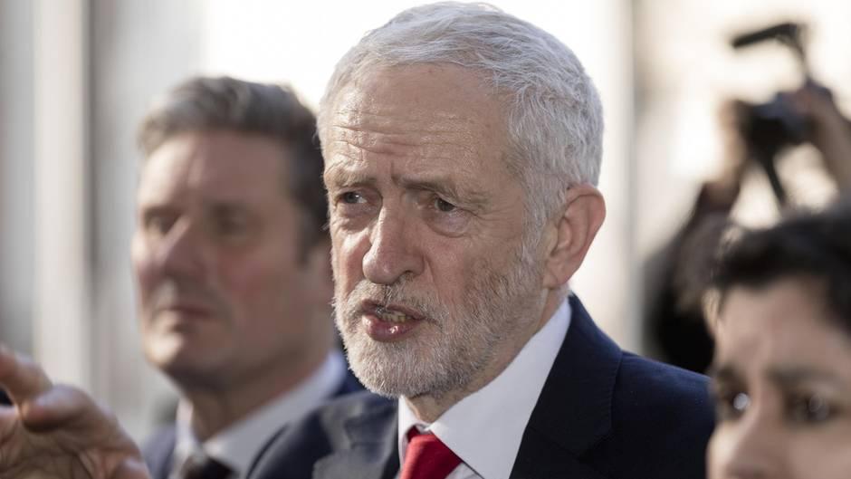 Jeremy Corbyn , Chef der britischen Labour-Partei