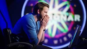 """Kandidat Benjamin Lange bei """"Wer wird Millionär?"""""""