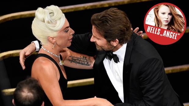 Harter Stoff für die Freundin: Bradley Cooper und Lady Gaga.