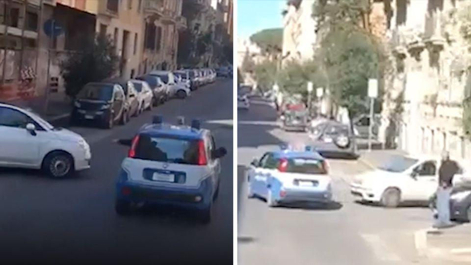 Härtere Regeln in Rom: Trillerpfeifen gegen Touristen: Polizei verjagt Urlauber von der Spanischen Treppe
