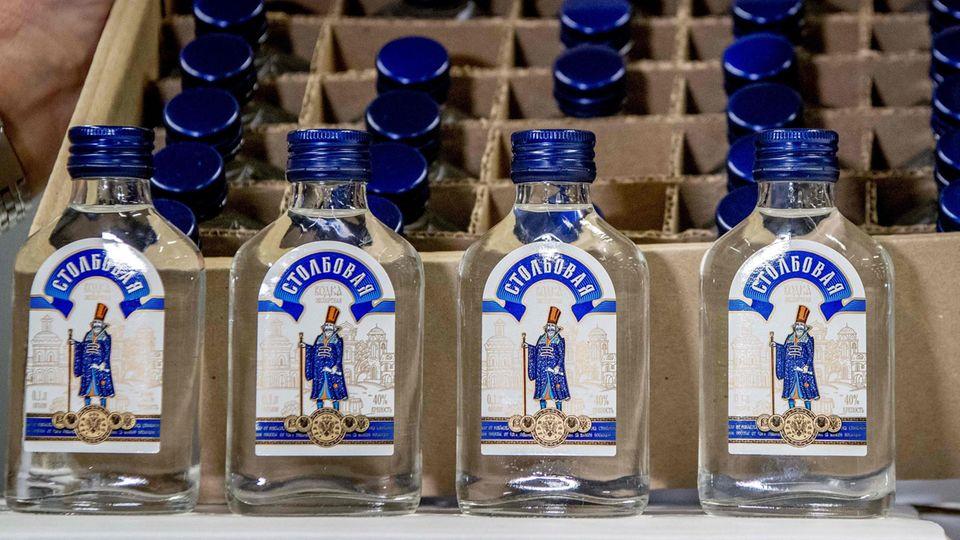 Wodka-Flaschen