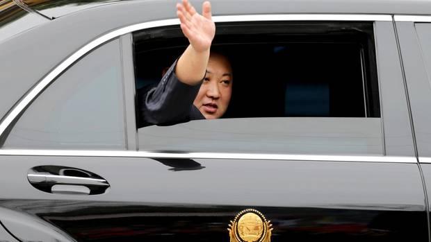 Donald Trump Kim Jong Un Gipfel Mercedes