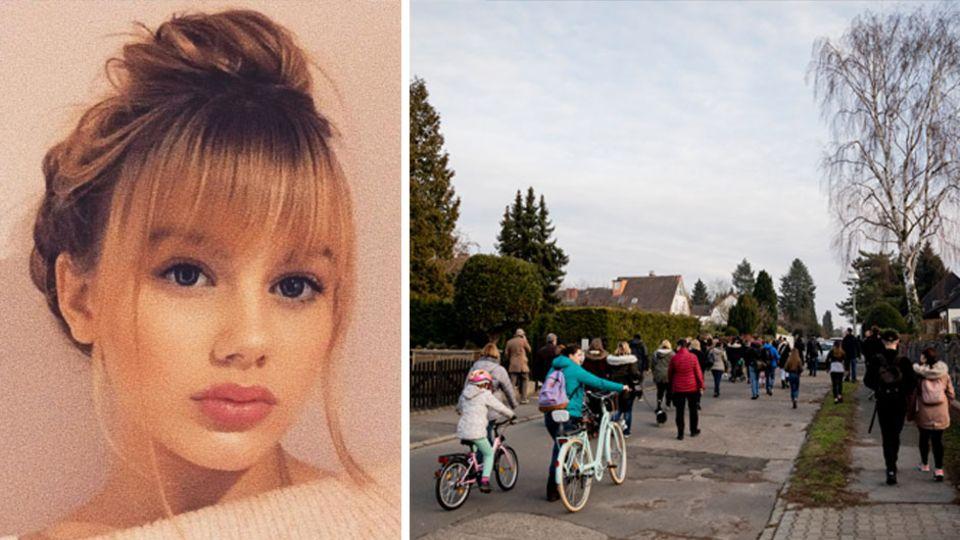 #FindBecci: Vermisste Rebecca Reusch aus Berlin, Freiwillige bei einer Suchaktion