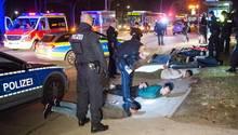 Polizeieinsatz in Lohbrügge