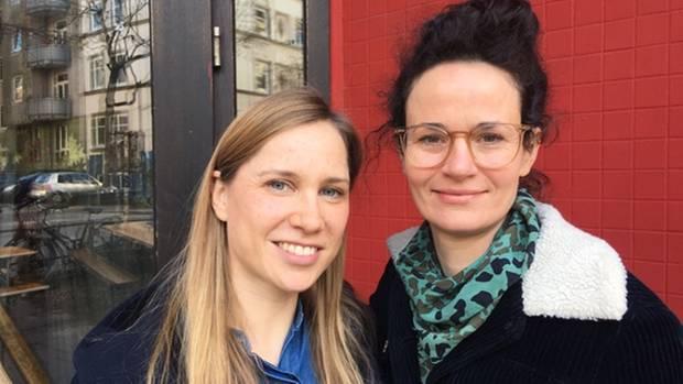 Lisa Edelmann und Maike Heinlein