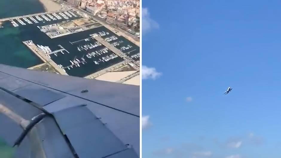 British Airways: Airbus taumelt gewaltig bei Landeanflug