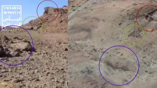 Ein Abgleich der Bilder aus dem Video mit Satellitendaten führt an den Ort des Absturzes