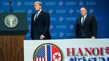 Donald Trump und US-Außenminister Mike Pompeo