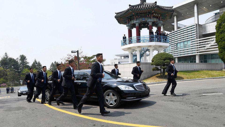 Mercedes von Kim Jong Un