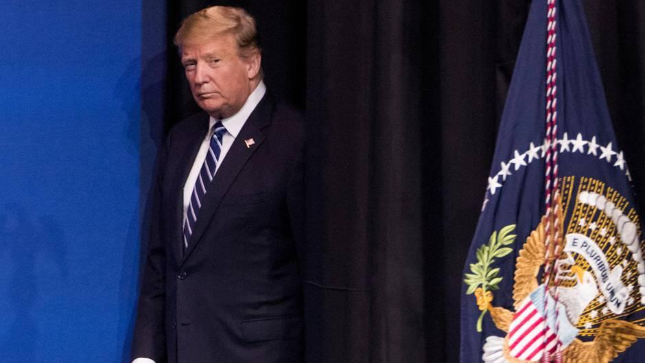 Donald Trump hatte eine miese Woche