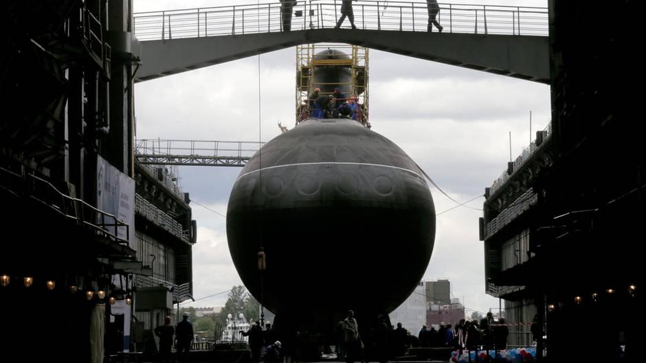 Russische U-Boote könnten die Zirkon-Rakete