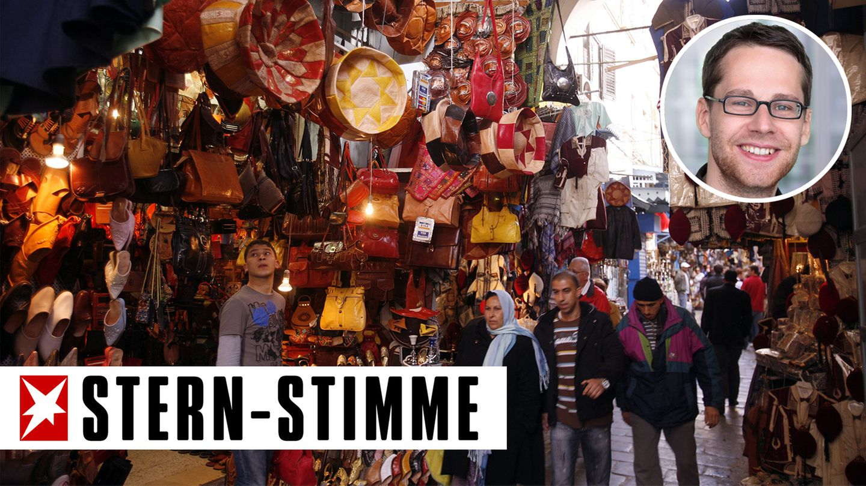 Basar in in der Medina von Tunis