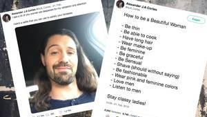 Sexismus auf Twitter: Misogynist Alexander Cortes