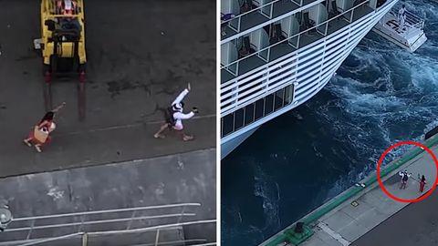 Passagiere verpassen die Symphony of the seas