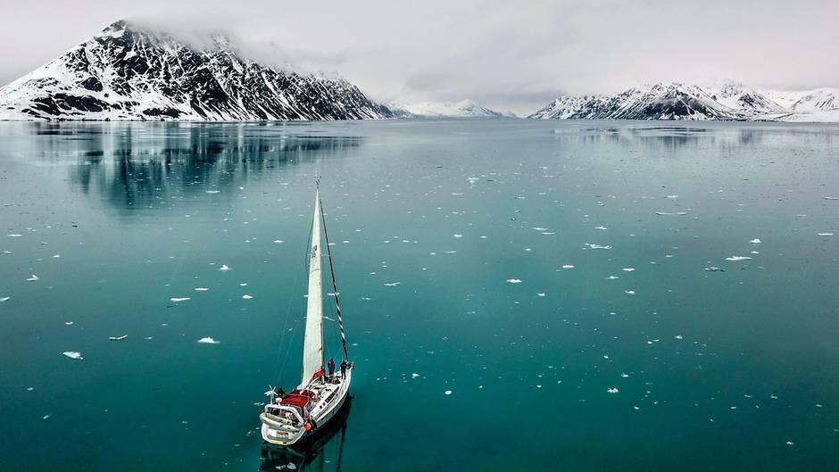 Norwegen – vor Ort bei der Polarmeerseglerin Delphine Garcin
