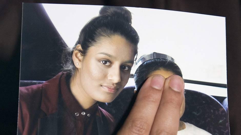 IS-Frau Shamima Begum auf einem Familienfoto