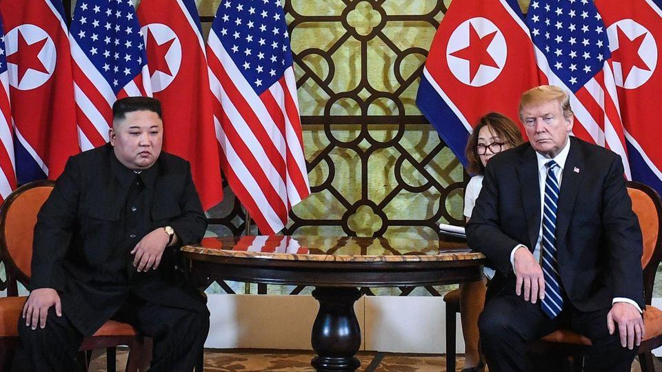 Donald Trump und Kim Jong Un Gipfel