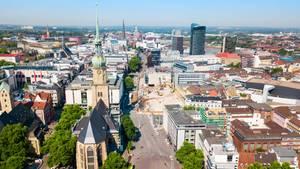 Dortmund landet auf Platz 5, keine andere Stadt im Ruhrgebiet schafft es ansonsten unter die Top-Ten im Ranking.