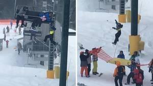 Achtjähriger fällt aus Skilift – und wird von Jugendlichen gerettet