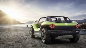VW ID. Buggy - dürfte kaum Chancen auf eine Serienumsetzung haben
