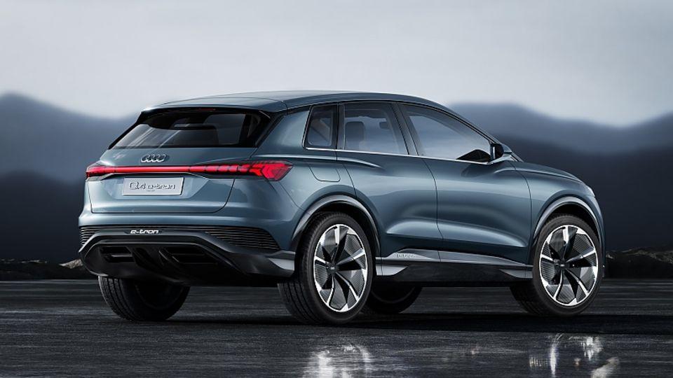 Audi Q4 E-Tron Concept 2019 - 4,59 Meter lang