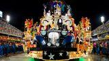 Performance auf mehreren Ebenen: der Wagen der SambaschuleVila Isabel