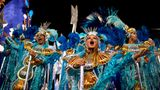 Die heiße Phase des brasilianischen Karnevals zieht sich über zwei Tage.Am Mittwoch bestimmt eine Jury den Sieger.