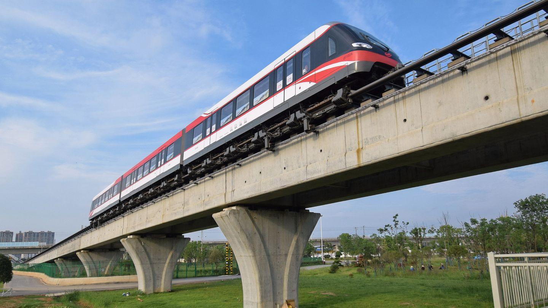 Eine bereits gebaute Strecke mit einem Vorgängermodell.